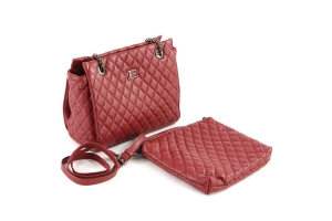 Multi-bag Ermanno Scervino Matelassè Bordeaux